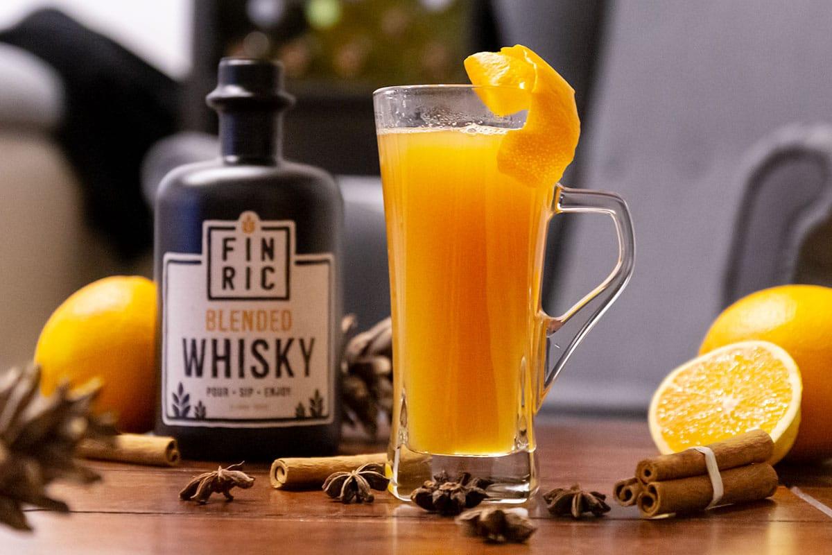 FINRIC Glühwhisky - Der Whiskycocktail für den Winter