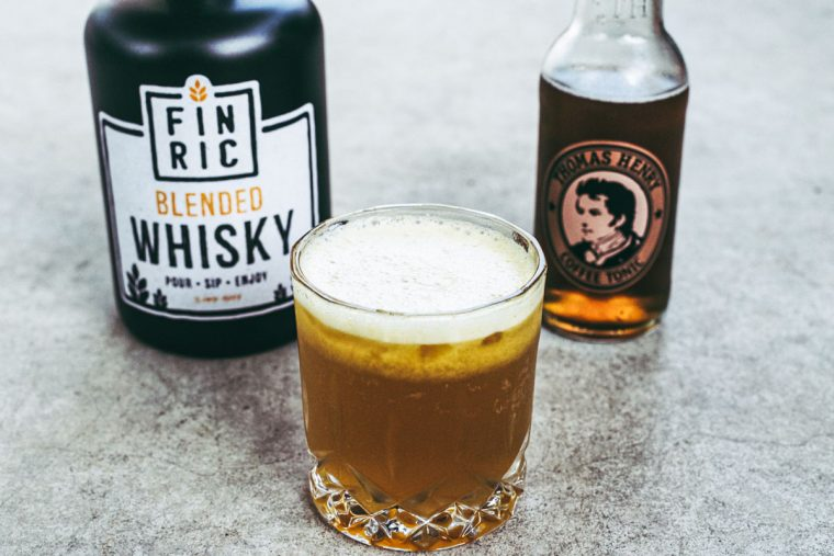 FINRIC Tropical Coffee - Whisky Cocktail