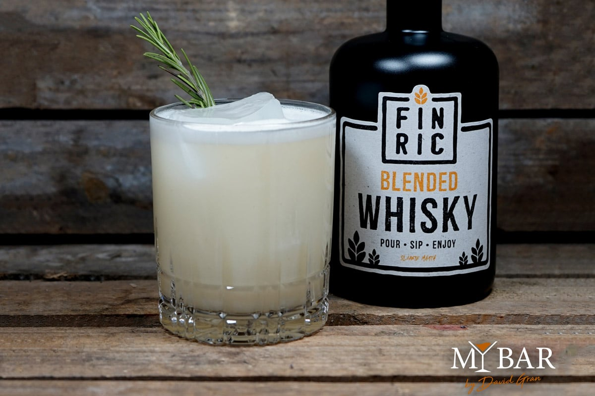Whisky Cocktail: Quiet Storm - Whisky Sour FINRIC